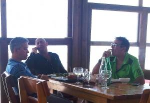Francesco Corallo, rechts op de foto