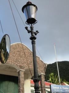Sfeerverlichting op Saba / Foto: The Daily Herald - Teodor Stan.