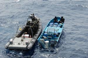 Kustwacht onderschept 'go fast' met 1453 kilo cocaïne aan boord