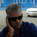 Eilandsraadlid Robby Beukenboom foto Belkis Osepa