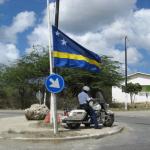 Curaçaose vlag halfstok