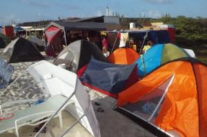 Paaskamperen is al generaties lang een traditie op Aruba - Foto: Ariën Rasmijn