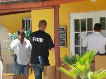 Inval bij Yachtclub Apartments Foto: Extra Bonaire