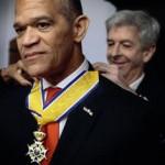 Oud-gouverneur Frits Goedgedrag legde in november 2012 zijn functie neer