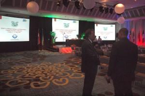 Deelnemers aan de CCLEC-conferentie.