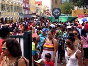 Curaçao heeft Koninginnedag 2013 massaal gevierd - foto: Dick Drayer