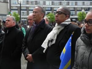 gevolmachtigd minister Pieters en John Leerdam foto: Jamila Baaziz