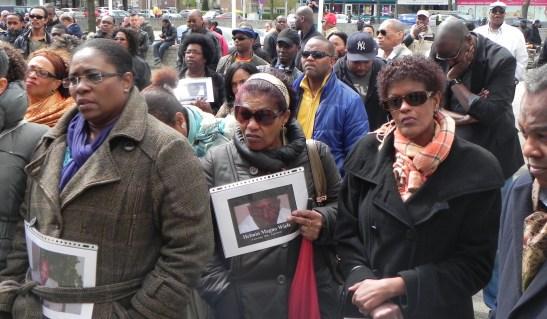 publiek tijdens lawaaimanifestatie foto: Jamila Baaziz