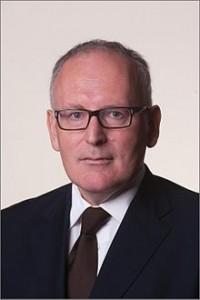 Minister van Buitenlandse Zaken Frans Timmermans