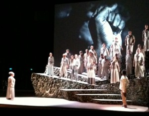 repetitie van Katibu di shon in Enschede, foto: Jamila Baaziz