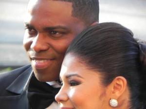 Giovanni Abath met zijn vrouw, foto: Jamila Baaziz