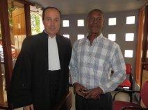 Advokaat Knoops en Lucio Ricardo
