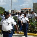 Politieagenten op Bonaire Foto: Belkis Osepa