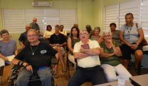De eerste bijeenkomst van Stichting Patiëntenbelangen BES - foto: Belkis Osepa