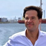 Premier Rutte bezoekt het havengebied van Willemstad - foto: Dick Drayer