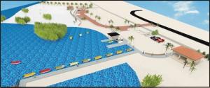 Zo moet het strand van Cura  Cabay aan het oosten van Aruba eruitzien, nog voor de start van het hoogseizoen eind november.