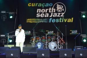 Harry Belafonte opent de vierde editie van het Curaçao North Sea Jazzfestival | Foto: Dick Drayer