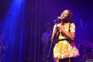 Sherry Dyanne heeft Curaçaose roots -foto: Dick Drayer