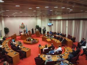 De opening van het parlementair jaar in de Statenzaal. Foto: Ariën Rasmijn