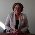 Suzy Römer is de coach van het Curaçaose debatteam  - foto: Leoni Leidel-Schenk