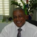 UPB partijleider James Kroom foto: Belkis Osepa