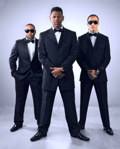Rappers Rahi, Prinston P., en Kilate  - foto: Tony Montana Music