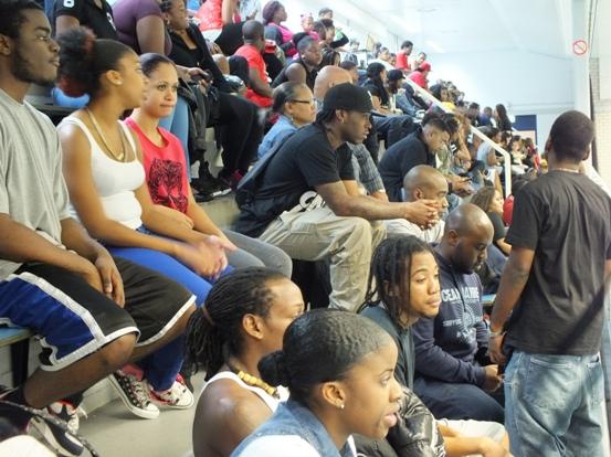 Supporters bij Unity Movement Sports Day - foto: Jamila Baaziz