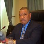 Minister van Justitie, Nelson Navarro - foto: Dick Drayer