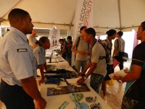 Studie- en beroepenmarkt op Bonaire - foto: Belkis Osepa