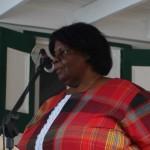 Anastasia Simmons van de Voogdijraad Saba - foto: Hazel Durand