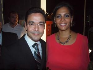 Minister Alex Schwengle samen met zijn echtgenote. Foto: Ariën Rasmijn