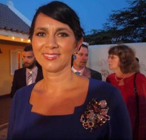 Minister Michelle Hooyboer-Winklaar. Foto: Ariën Rasmijn