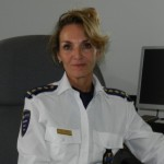 Korpschef Hildegard Buitink - foto: Belkis Osepa