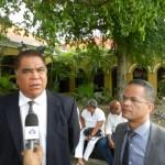 Ramoncito Booi en Burney El Hage - foto: Belkis Osepa