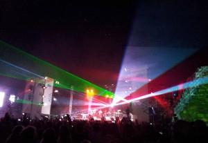 Het gratis concert in Bushiribana. Foto: Ariën Rasmijn