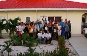De vrijwilligers van hospice Arco Cavent - foto: Walter Verleg