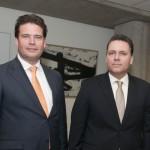Staatssecretaris Frans Weekers en minister van Financiën José Jardim - foto: Nico van der Ven
