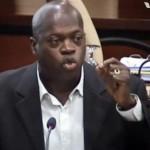 Louie Laveist oreert tijdens de Centrale Commissie vergadering over de ontwerpbegroting 2014 - foto Today / Hilbert Haar