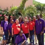 Studenten en leraren van het Sociale Kans Traject - foto: SKJ