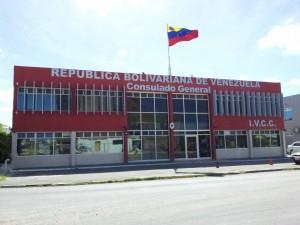 Het Venezolaanse Consulaat in Oranjestad. Foto: Ariën Rasmijn