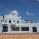 Het pand van de Rietveld Academie in Oranjestad - foto: Ariën Rasmijn