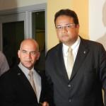 Rafael Santana en Hans Els