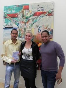 Jean-Ives Martijn, Susanne van Paridon en Chris Dalnoot