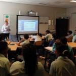 Taalonderwijs op Governor De Graaff School in St. Eustatius - foto: The Daily Herald/Althea Merkman