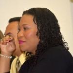 Minister Jeanne-Marie Fransisca (PS/Sociale Zaken en Werkgelegenheid