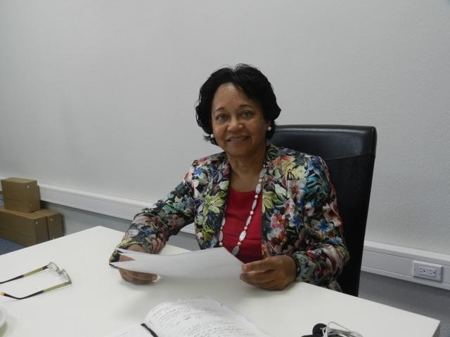 Lydia Emerencia neemt afscheid als gezaghebber van Bonaire - foto: Belkis Osepa