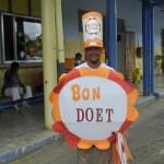 Bonaire is voorloper in de organistie van de grootste actie in de Cariben - foto: Belkis Osepa