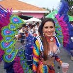 De kosten voor een flamboyant kostuum lopen al snel op tot 3000 gulden - foto: Ariën Rasmijn