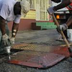 400 drempels over heel Curaçao worden weer verwijderd (foto: Ministerie VVRO)