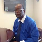 Waarnemend gezaghebber Franklin Wilson - foto: Hazel Durand